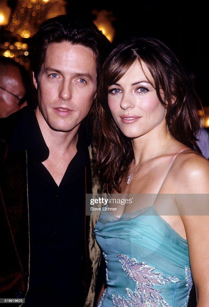 Elizabeth Hurley and Hugh Grant premiere of 'Mickey Blue Eyes' New York August 11 1999