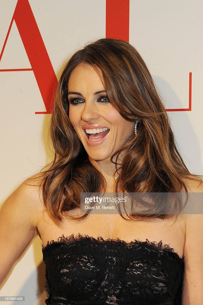 <a gi-track='captionPersonalityLinkClicked' href=/galleries/search?phrase=Elizabeth+Hurley&family=editorial&specificpeople=201731 ng-click='$event.stopPropagation()'>Elizabeth Hurley</a> attends a private view of 'Valentino: Master Of Couture', exhibiting from November 29th, 2012 - March 3, 2013, at Somerset House on November 28, 2012 in London, England.