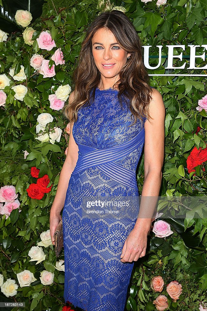 <a gi-track='captionPersonalityLinkClicked' href=/galleries/search?phrase=Elizabeth+Hurley&family=editorial&specificpeople=201731 ng-click='$event.stopPropagation()'>Elizabeth Hurley</a> attends a Queenspark breakfast to celebrate the brand's Summer 2013 collection on November 8, 2013 in Sydney, Australia.