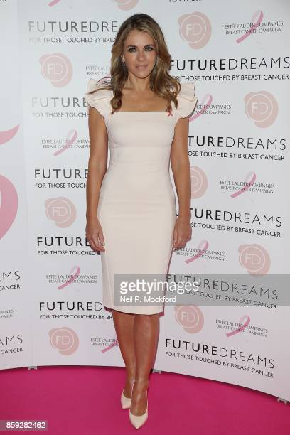 Elizabeth Hurley attends the 'Future Dreams' Fundraising Lunch at The Savoy Hotel on October 9 2017 in London England