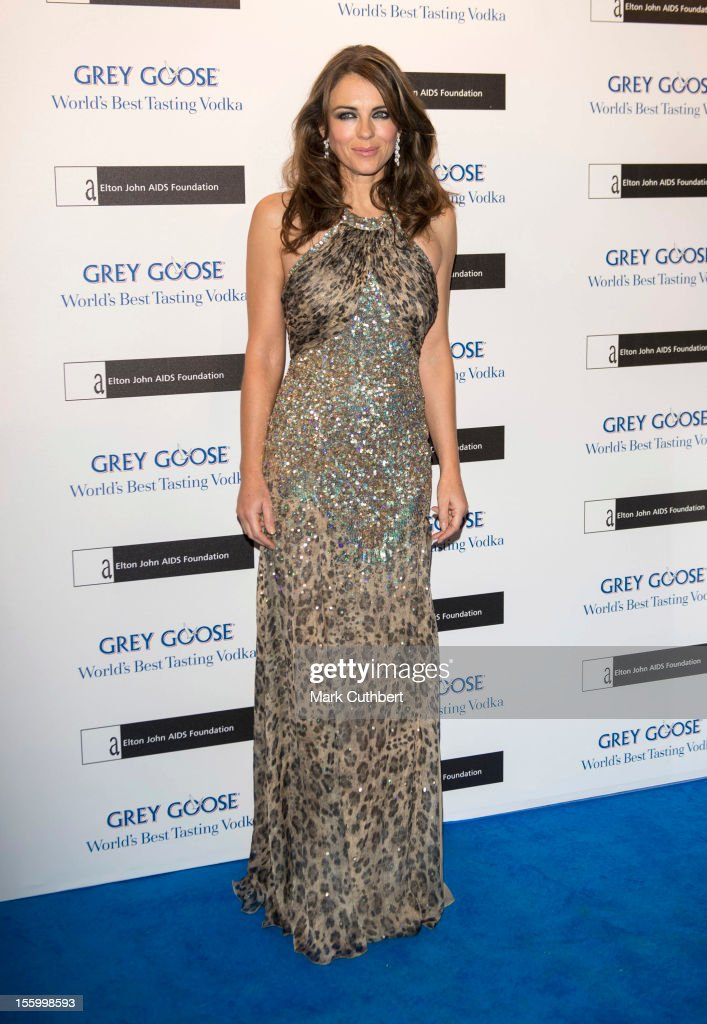 <a gi-track='captionPersonalityLinkClicked' href=/galleries/search?phrase=Elizabeth+Hurley&family=editorial&specificpeople=201731 ng-click='$event.stopPropagation()'>Elizabeth Hurley</a> attends the Grey Goose Winter Ball at Battersea Power station on November 10, 2012 in London, England.