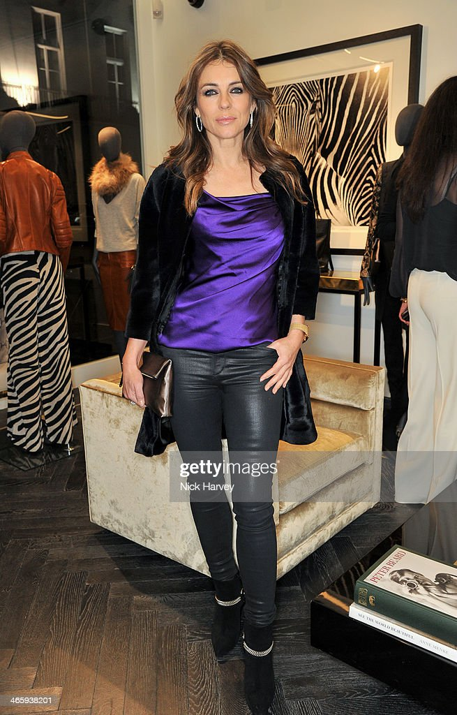 <a gi-track='captionPersonalityLinkClicked' href=/galleries/search?phrase=Elizabeth+Hurley&family=editorial&specificpeople=201731 ng-click='$event.stopPropagation()'>Elizabeth Hurley</a> attends the opening of the new Amanda Wakeley store on January 30, 2014 in London, England.