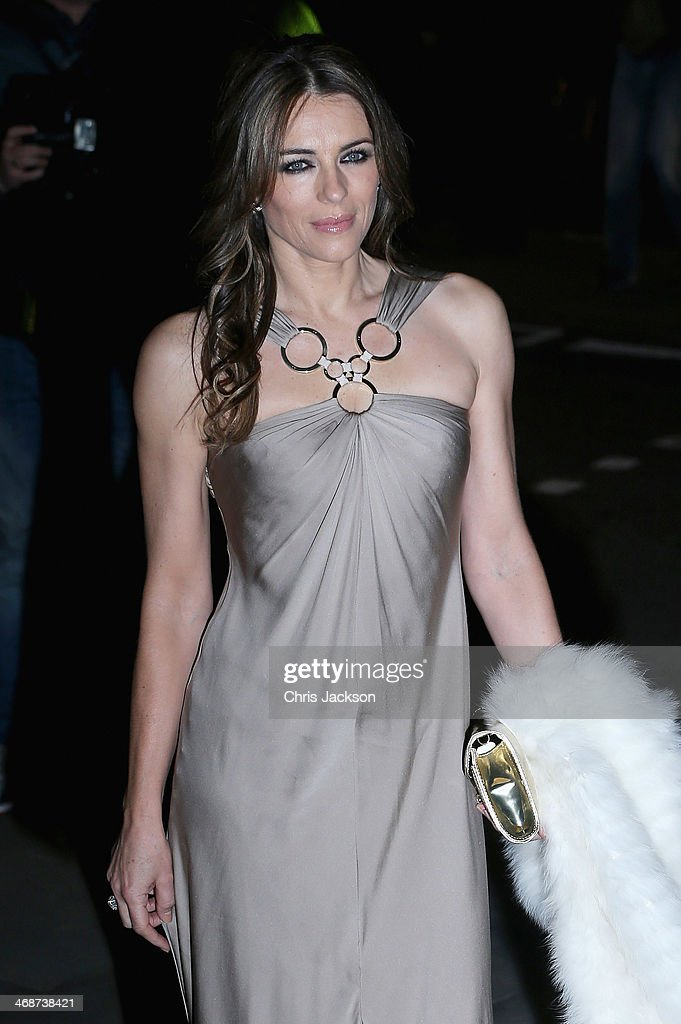 Elizabeth Hurley attends The Portrait Gala 2014: Collecting To Inspire at National Portrait Gallery on February 11, 2014 in London, England.