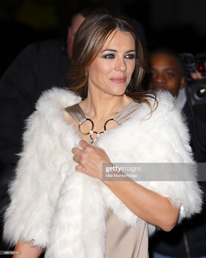 <a gi-track='captionPersonalityLinkClicked' href=/galleries/search?phrase=Elizabeth+Hurley&family=editorial&specificpeople=201731 ng-click='$event.stopPropagation()'>Elizabeth Hurley</a> attends The Portrait Gala 2014: Collecting to Inspire at the National Portrait Gallery on February 11, 2014 in London, England.