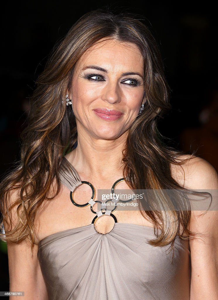 Elizabeth Hurley attends The Portrait Gala 2014: Collecting to Inspire at the National Portrait Gallery on February 11, 2014 in London, England.