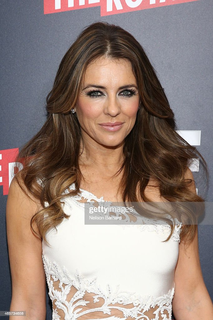 Elizabeth Hurley attends 'The Royals' New York Series Premiere at The Standard Highline on March 9, 2015 in New York City.