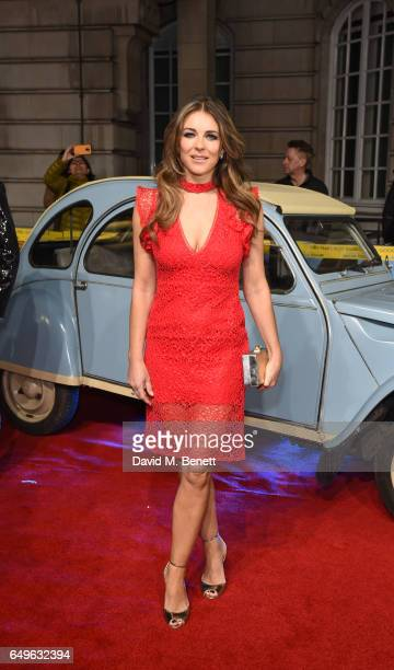 Elizabeth Hurley attends the World Premiere of 'The Time Of Their Lives' at The Curzon Mayfair on March 8 2017 in London England
