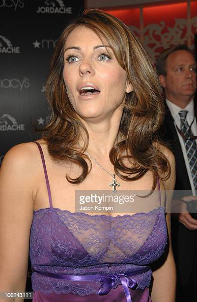Elizabeth Hurley during Elizabeth Hurley Launches The Jordache Spring/Summer 2007 Collection at Macy's at Macy's in New York City New York United...