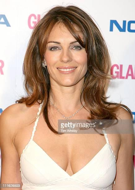 Elizabeth Hurley during Glamour Women of the Year Awards 2006 Inside Arrivals at Berkeley Square in London Great Britain
