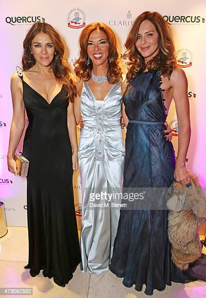Elizabeth Hurley Heather Kerzner and Trinny Woodall attend the Spring Gala In Aid of the Red Cross War Memorial Children's Hospital hosted by QBF and...
