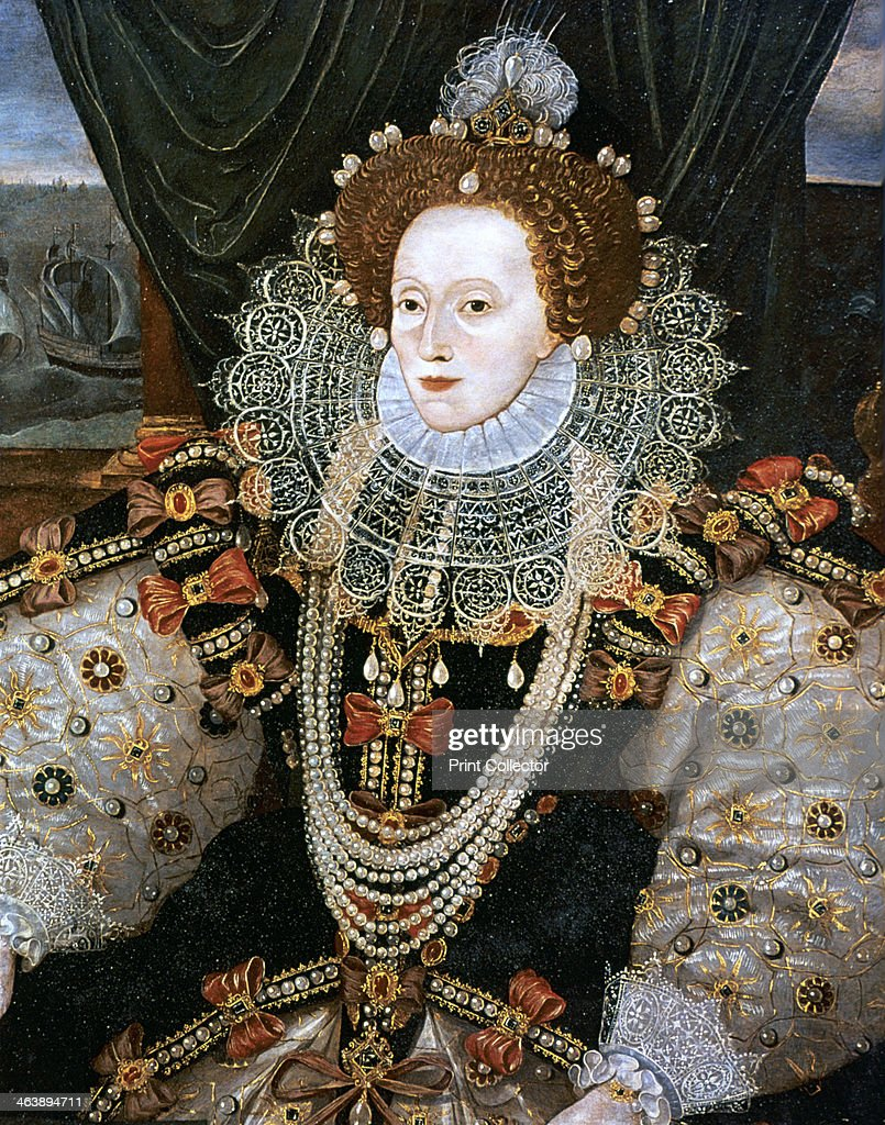 Elizabeth I Queen of England and Ireland c1588 Version of the Armada portrait attributed to George Gower The last Tudor monarch Elizabeth I ruled...