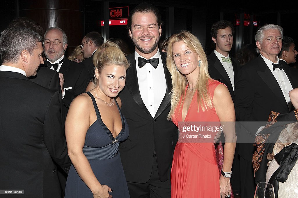 Elizabeth Jacoby, Chris Trump, and Dee Dee Eustace attend the Casita Maria's 2013 Fiesta gala at Mandarin Oriental Hotel on October 22, 2013 in New York City.