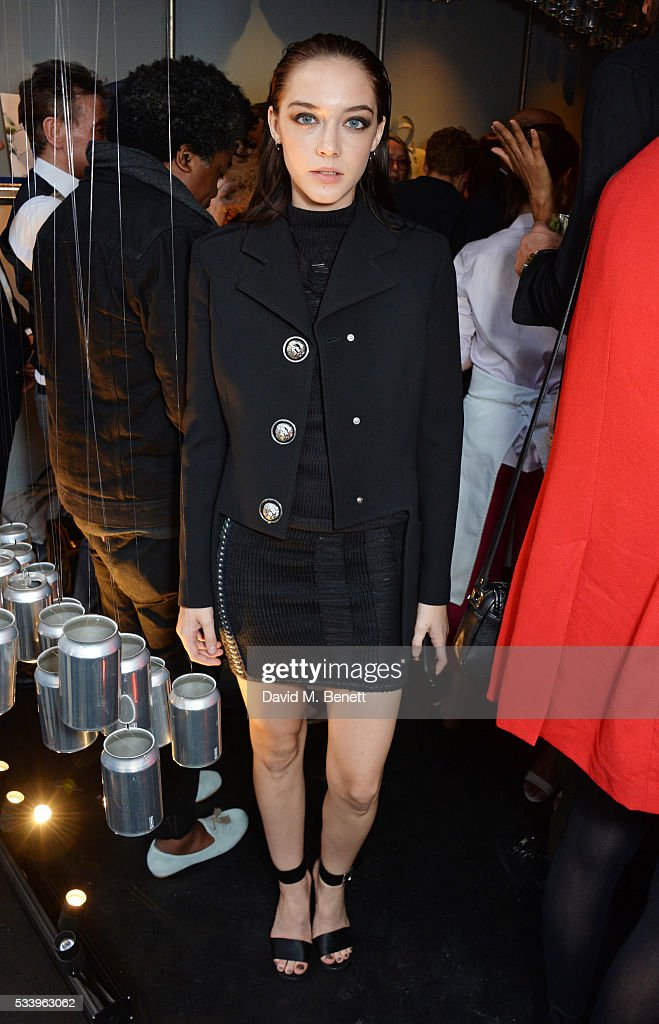 Elizabeth Jane Bishop attends the Bottletop Regent Street store launch on May 24, 2016 in London, England.