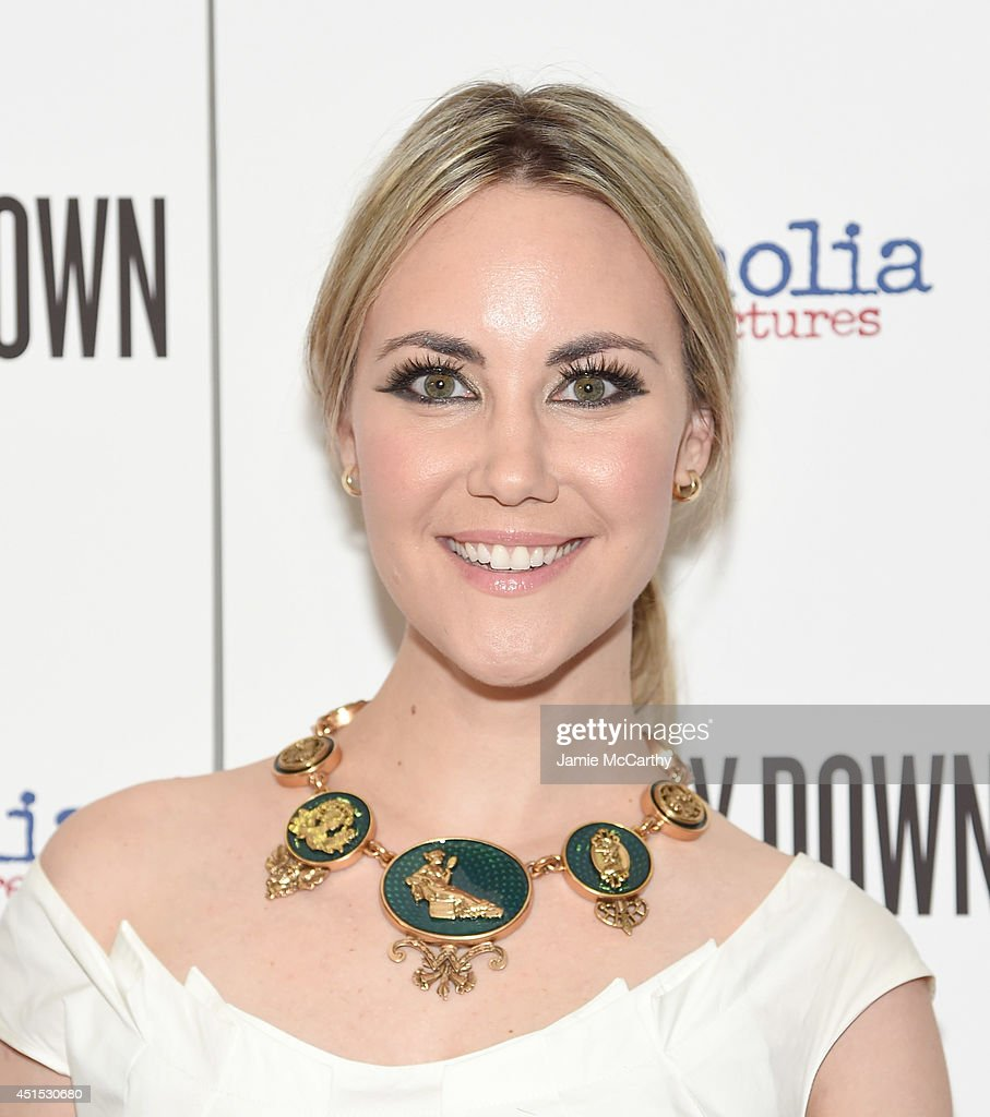 Elizabeth Kurpis attends 'A Long Way Down' New York premiere at City Cinemas 123 on June 30, 2014 in New York City.