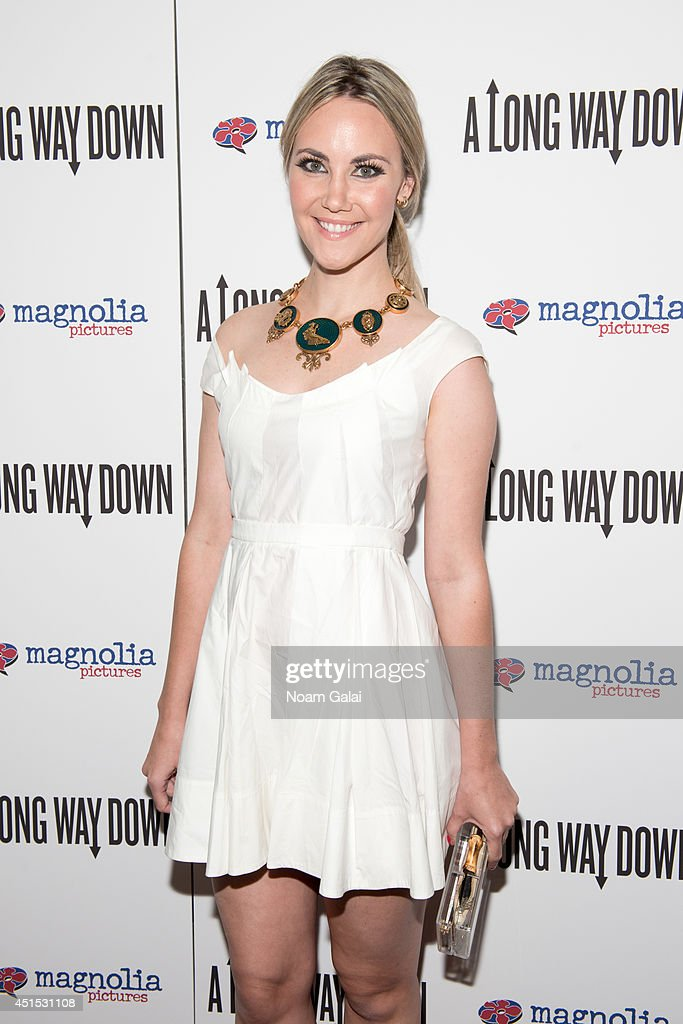 Elizabeth Kurpis attends the 'A Long Way Down' New York Premiere at City Cinemas 123 on June 30, 2014 in New York City.