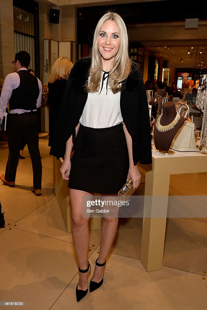Elizabeth Kurpis attends YoungArts New York 2014 Kick Off Event at Henri Bendel 5th Avenue on April 1, 2014 in New York City.