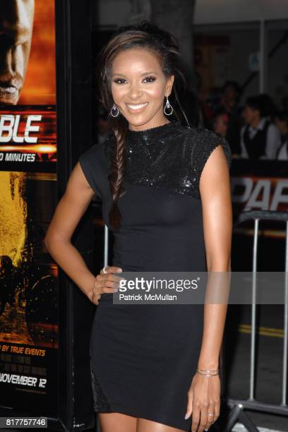 Elizabeth Mathis attends UNSTOPPABLE World Premiere at Regency Village Theatre on October 26 2010 in Westwood California