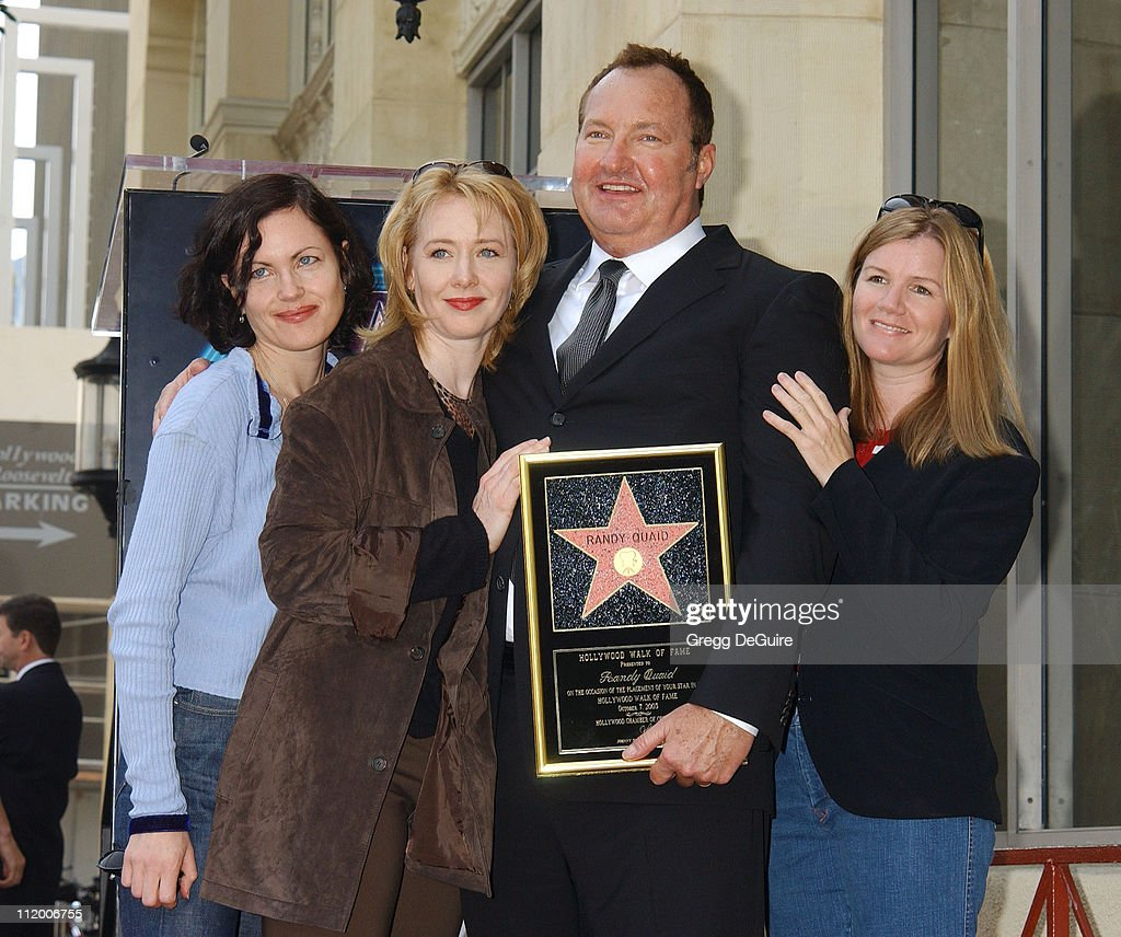 Randy Quaid Honored With A Star On The Hollywood Walk Of Fame