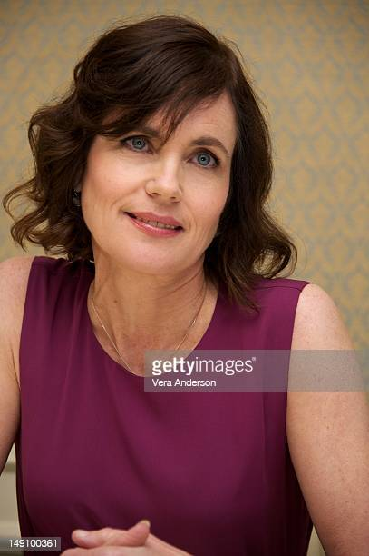 Elizabeth McGovern at the 'Downton Abbey' Press Conference at Four Seasons Hotel on July 22 2012 in Beverly Hills California