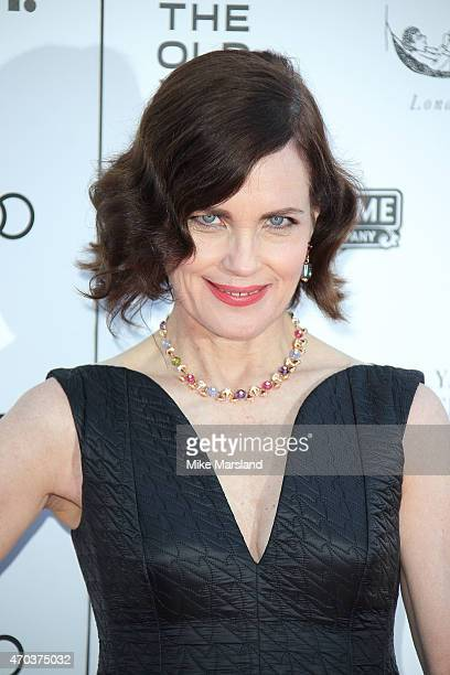 Elizabeth McGovern attends A Gala Celebration in honour of Kevin Spacey at The Old Vic Theatre on April 19 2015 in London England