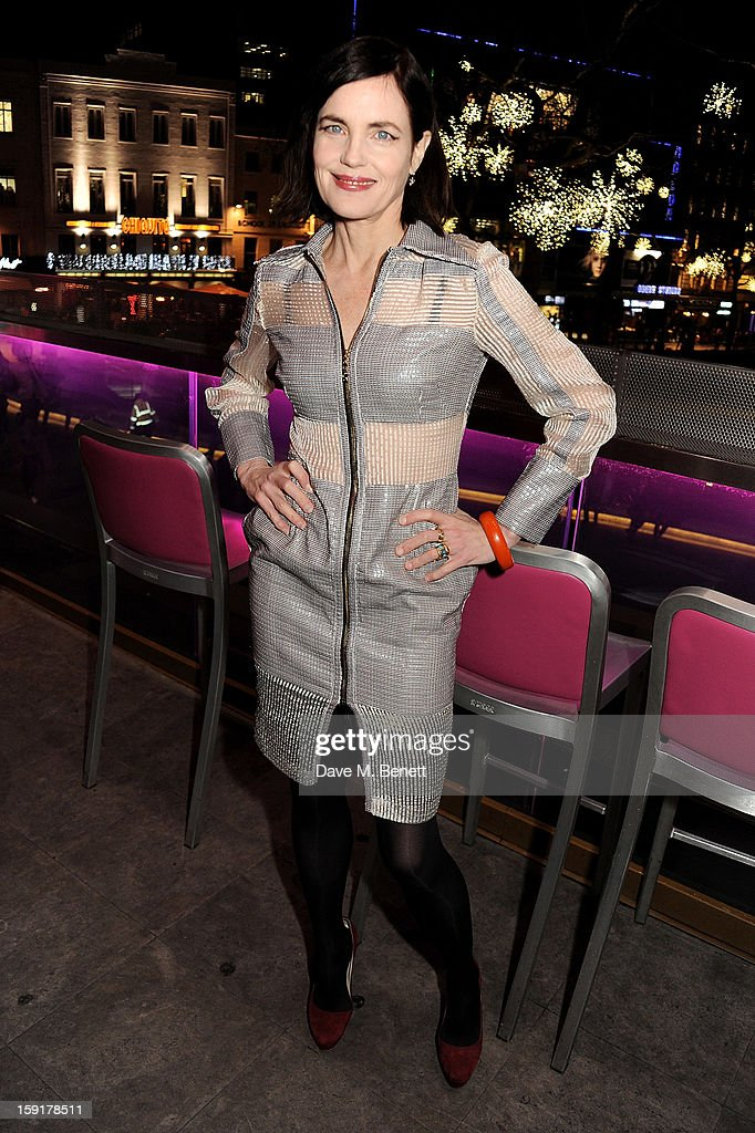 Elizabeth McGovern attends a Gala Screening of 'Cheerful Weather For The Wedding' at the Empire Leicester Square on January 9, 2013 in London, England.