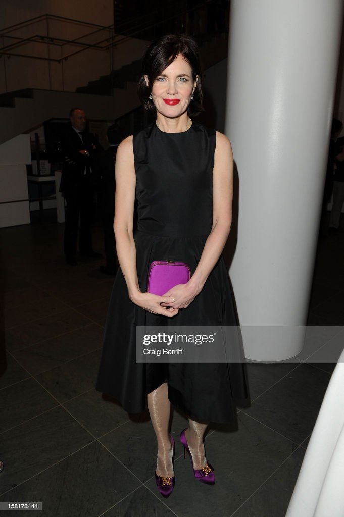 Elizabeth McGovern attends an evening with the cast and producers of PBS Masterpiece series 'Downton Abbey' hosted by Ralph Lauren & Graydon Carter on December 10, 2012 in New York City.
