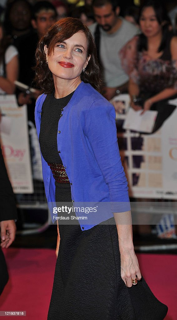 <a gi-track='captionPersonalityLinkClicked' href=/galleries/search?phrase=Elizabeth+McGovern&family=editorial&specificpeople=734460 ng-click='$event.stopPropagation()'>Elizabeth McGovern</a> attends the European premiere of 'One Day' at Vue Westfield on August 23, 2011 in London, England.