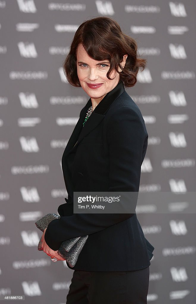 <a gi-track='captionPersonalityLinkClicked' href=/galleries/search?phrase=Elizabeth+McGovern&family=editorial&specificpeople=734460 ng-click='$event.stopPropagation()'>Elizabeth McGovern</a> attends the preview of The Glamour of Italian Fashion exhibition at Victoria & Albert Museum on April 1, 2014 in London, England.