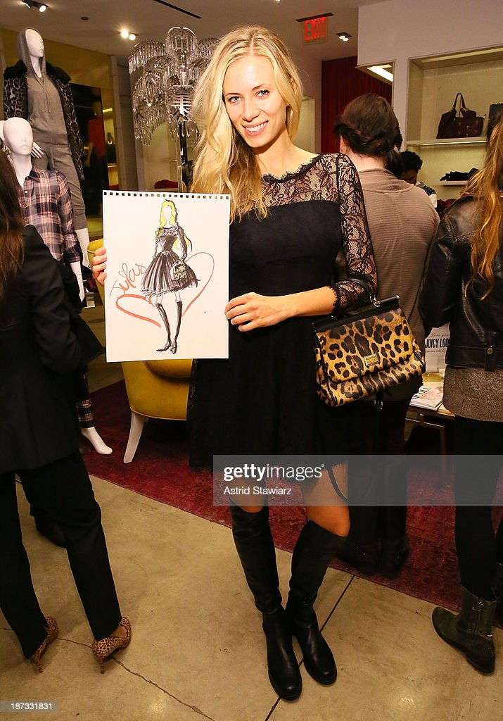 Elizabeth Minett attends the Vanity Fair & Juicy Couture 'Wild For Gifts' Celebration on November 7, 2013 in New York City.