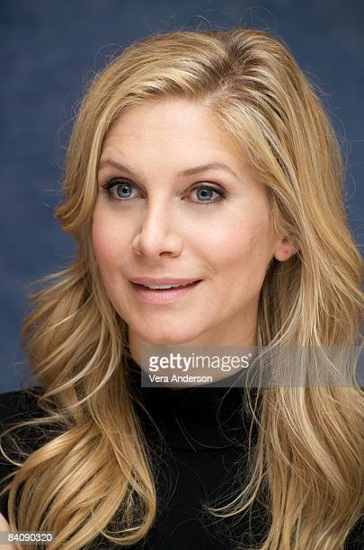 Elizabeth Mitchell attends the 'Lost' press conference at the Beverly Wilshire Hotel on September 22 2008 in Beverly Hills California