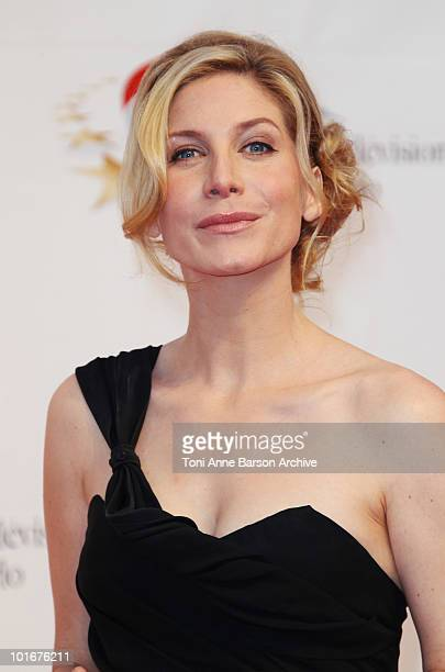 Elizabeth Mitchell attends the opening night of the 2010 Monte Carlo Television Festival held at the Grimaldi Forum on June 6 2010 in MonteCarlo...