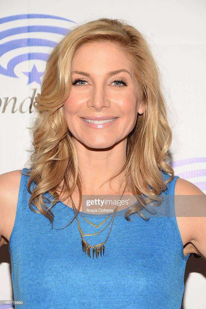 Elizabeth Mitchell attends WonderCon Anaheim 2013 - Day 2 at Anaheim Convention Center on March 30, 2013 in Anaheim, California.