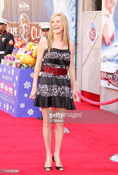 Elizabeth Mitchell during 'The Santa Clause 3 The Escape Clause' Los Angeles Premiere Arrivals at El Capitan in Hollywood California United States