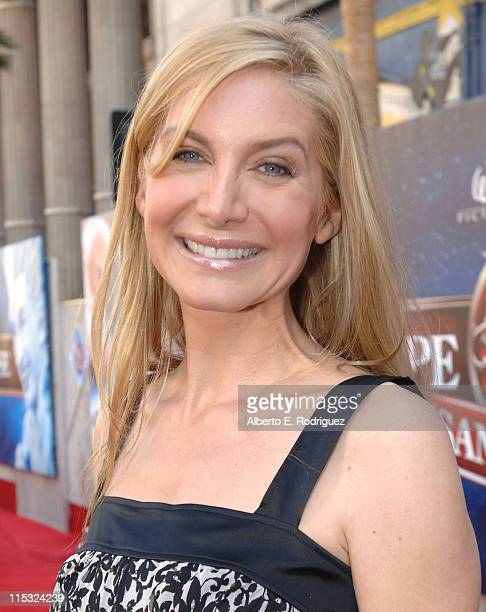 Elizabeth Mitchell during 'The Santa Clause 3 The Escape Clause' Los Angeles Premiere Red Carpet at El Capitan in Hollywood California United States