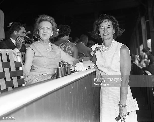 Elizabeth N Graham also known as Elizabeth Arden and Mrs Frank McMahon in Saratoga NY 1964