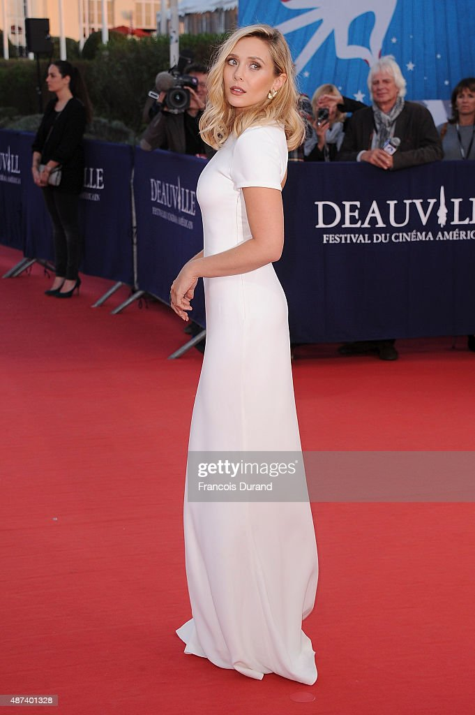 Elizabeth Olsen arrives at the ''Ruth And Alex'' Premiere during the 41st Deauville American Film Festival on September 9 2015 in Deauville France