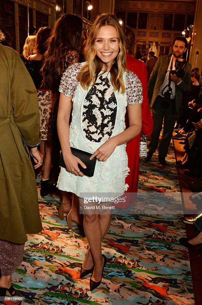 <a gi-track='captionPersonalityLinkClicked' href=/galleries/search?phrase=Elizabeth+Olsen&family=editorial&specificpeople=5775031 ng-click='$event.stopPropagation()'>Elizabeth Olsen</a> attends as Christian Dior showcases its spring summer 2017 cruise collection at Blenheim Palace on May 31, 2016 in Woodstock, England.