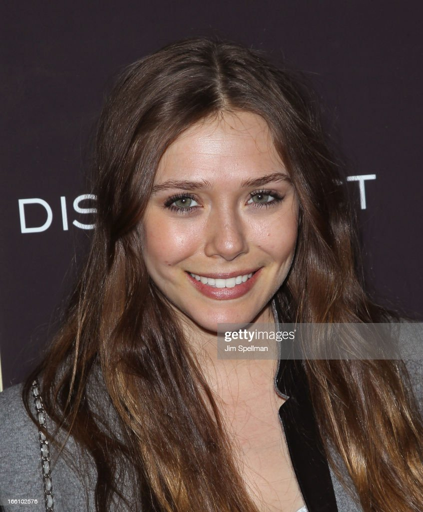 Elizabeth Olsen attends 'Disconnect' New York Special Screening at SVA Theater on April 8, 2013 in New York City.