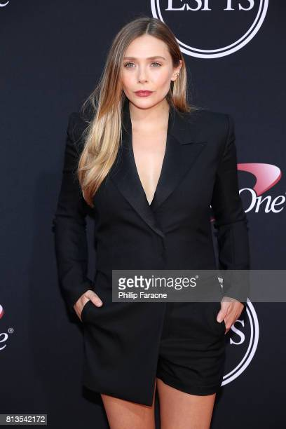 Elizabeth Olsen attends The 2017 ESPYS at Microsoft Theater on July 12 2017 in Los Angeles California