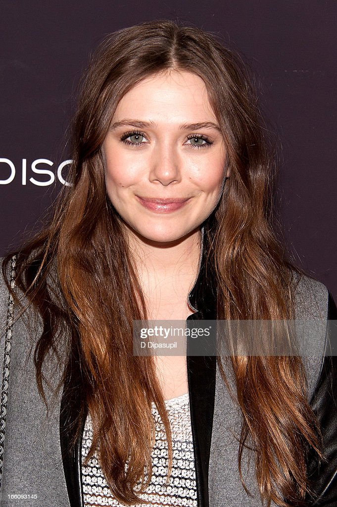 Elizabeth Olsen attends the 'Disconnect' New York Special Screening at SVA Theater on April 8, 2013 in New York City.