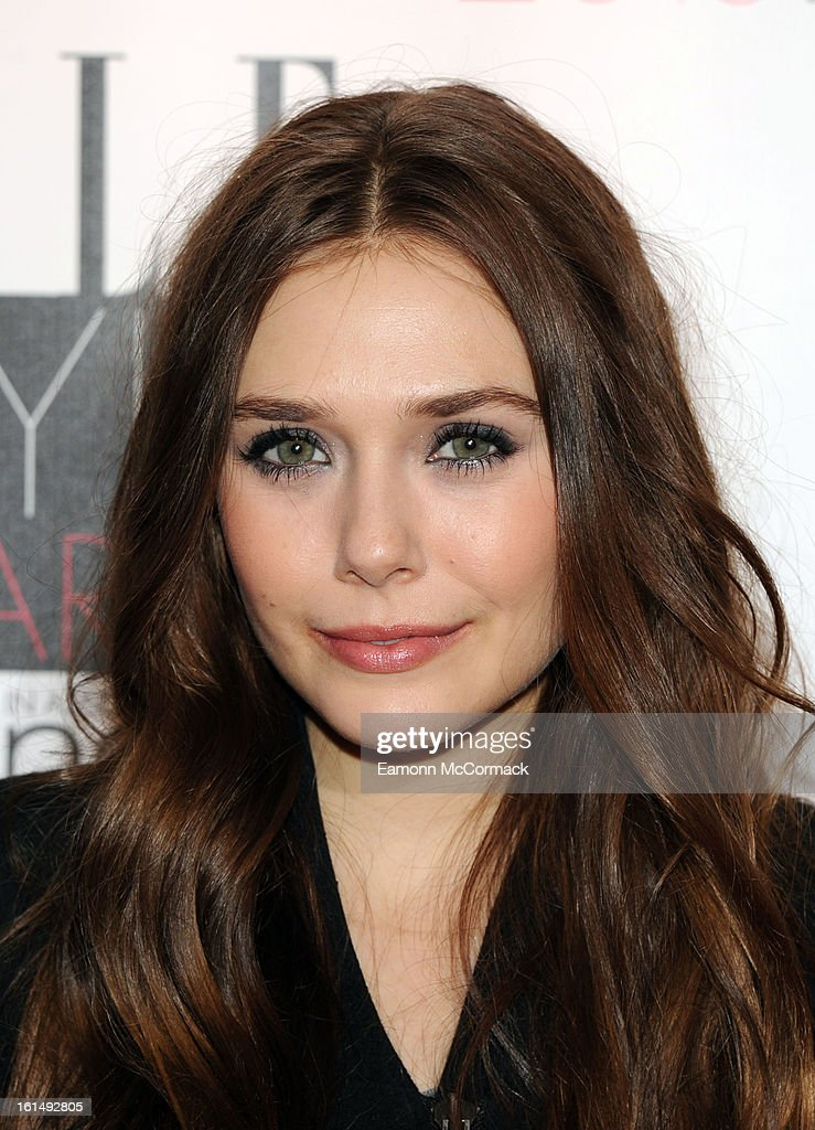 Elizabeth Olsen attends the Elle Style Awards 2013 on February 11, 2013 in London, England.