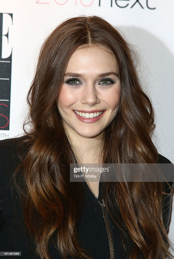 Elizabeth Olsen attends the Elle Style Awards at Savoy Hotel on February 11, 2013 in London, England.