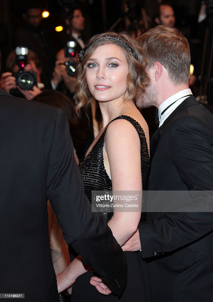 <a gi-track='captionPersonalityLinkClicked' href=/galleries/search?phrase=Elizabeth+Olsen&family=editorial&specificpeople=5775031 ng-click='$event.stopPropagation()'>Elizabeth Olsen</a> attends the 'Martha Marcy May Marlene' premiere during the 64th Cannes Film Festival at the Palais des Festivals on May 15, 2011 in Cannes, France.