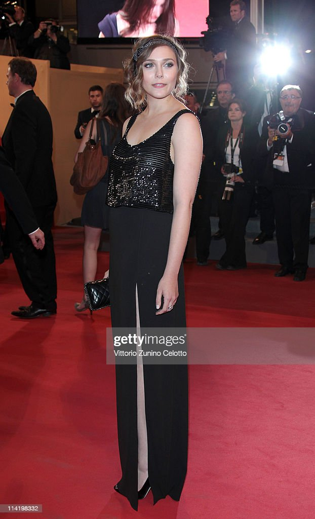 Elizabeth Olsen attends the 'Martha Marcy May Marlene' premiere during the 64th Cannes Film Festival at the Palais des Festivals on May 15, 2011 in Cannes, France.