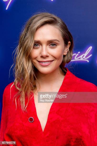 Elizabeth Olsen attends The New York premiere of 'Ingrid Goes West' hosted by Neon at Alamo Drafthouse Cinema on August 8 2017 in the Brooklyn...