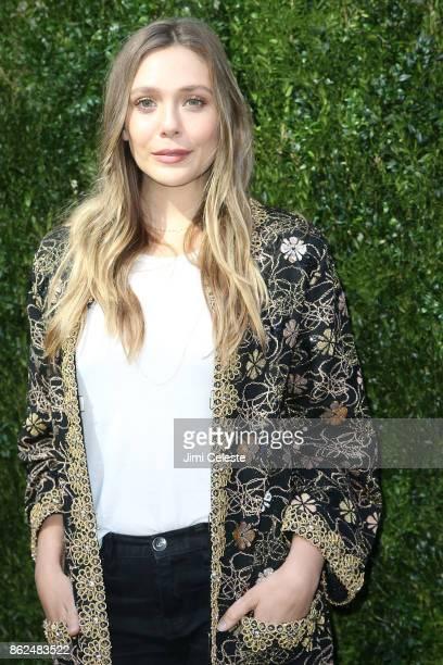 Elizabeth Olsen attends Through Her Lens The Tribeca Chanel Women's Filmmaker Program Luncheon at Locanda Verde on October 17 2017 in New York City