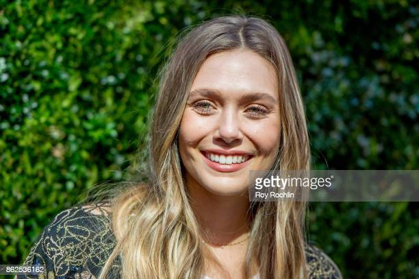 Elizabeth Olsen attends Through Her Lens The Tribeca Chanel Women's Filmmaker Program Luncheon at Locanda Verde on October 17 2017 in New York City