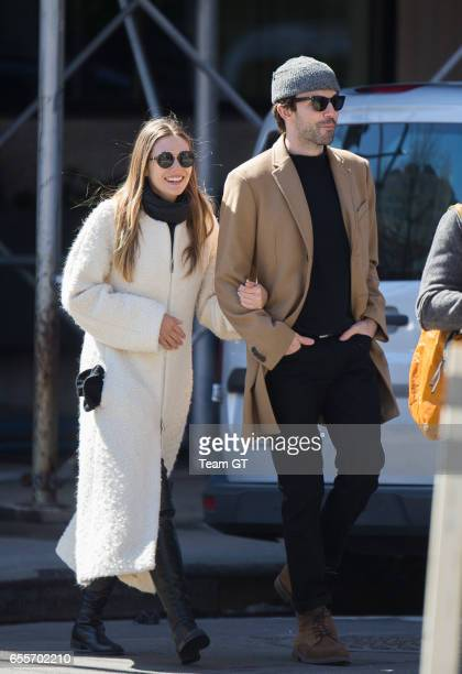 Elizabeth Olsen is seen on March 20 2017 in New York City