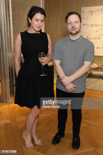 Elizabeth Paton and Alexander Fury attend the Dior cocktail party to celebrate the launch of Dior Catwalk by Alexander Fury on July 19 2017 in London...