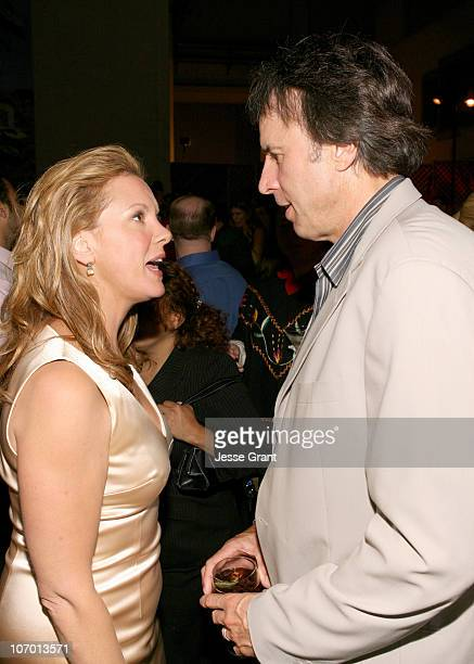 Elizabeth Perkins and Kevin Nealon during 'Weeds' Season Two Premiere After Party at RenMar Studios in Hollywood California United States